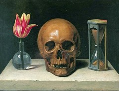 Philippe de Champaigne, Still Life With Skull
